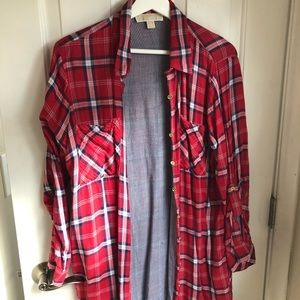 Michael Kors long button down-great with leggings!
